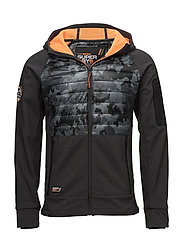 MOUNTAIN SOFTSHELL HYBRID - CHARCOAL GRIT/CAMO