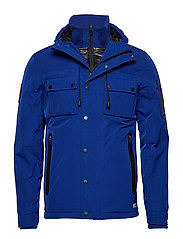 VESSEL JACKET - COBALT