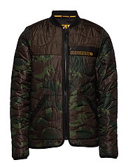AIR CORPS PADDED LINER JACKET - MOODY CAMO/BLACK