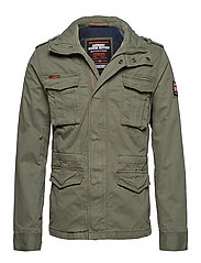 CLASSIC ROOKIE 4 PKT JKT - ARMY GREEN
