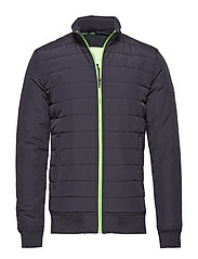 INTERNATIONAL QUILTED JACKET - NAVY