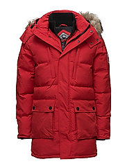 SD EXPEDITION PARKA - RED