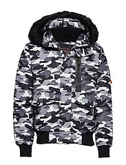 EVEREST BOMBER - BLACK CAMO