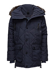 1ST AD DOWN QUILTED PARKA - ABYSS NAVY