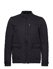 CITY MICROFIBRE QUILT JACKET - INK