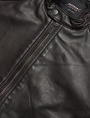 Superdry - Light Leather Racer - lederjacken - dark brown - 2