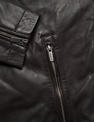 Superdry - Light Leather Racer - lederjacken - dark brown - 3