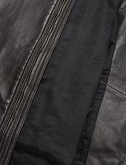 Superdry - Light Leather Racer - lederjacken - dark brown - 4
