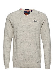 ORANGE LABEL COTTON VEE - ALASKA GREY GRINDLE