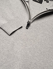Superdry - COTTON KNIT HENLEY - half zip - light grey marl - 2