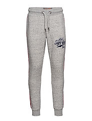 COLLEGE APPLIQUE JOGGER - ACADEMY SMOKE GREY GRIT