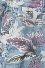Superdry - NUE WAVE WASH SHORT - rennot - paradise chambray hibiscus - 2