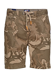 SUNSCORCHED SHORT - SAND OUTLINE CAMO