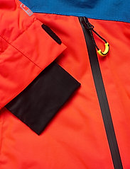 Superdry - SD MOUNTAIN JACKET - skijakker - volcanic orange/acid cobalt - 5