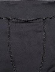 Superdry - PERFORMANCE FLOCK COMPRESSION LEGGING - spodnie treningowe - black - 5