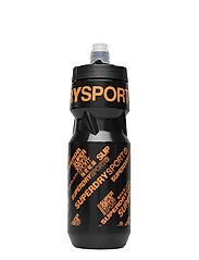 Superdry - SUPER DIAGONAL BOTTLE - vannflasker - black/orange - 2