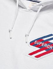 Superdry - SPORTSTYLE GRAPHIC HOOD - hættetrøjer - optic - 2