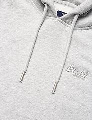 Superdry - OL CLASSIC HOOD BB - hoodies - light grey marl - 2