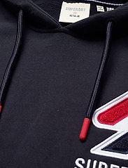 Superdry - SPORTSTYLE CHENILLE HOOD - hoodies - deep navy - 2