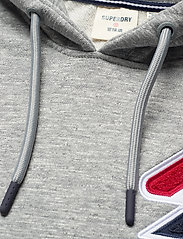 Superdry - SPORTSTYLE CHENILLE HOOD - hoodies - grey slub grindle - 2