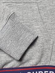 Superdry - SPORTSTYLE CHENILLE HOOD - hoodies - grey slub grindle - 3