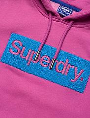 Superdry - CL WORKWEAR HOOD - hoodies - dusty wine - 2