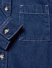 Superdry - ALCHEMY CLASSIC SHIRT - jeansblouses - denim indigo rinse - 3