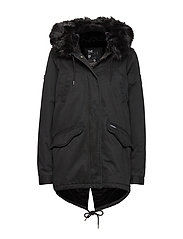 FALCON ROOKIE PARKA - MILITARY BLACK