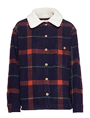 LAMBER JACKET - BLACK CHECK