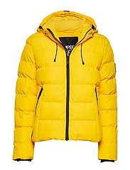 SPIRIT PUFFER ICON JACKET - BRIGHT YELLOW