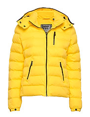 Summer Microfibre Jacket - BRIGHT YELLOW