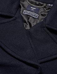 Superdry - Wool Crop Peacoat - wool jackets - eclipse navy - 3