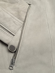 Superdry - CLASSIC SUEDE BIKER - leather jackets - stone - 3