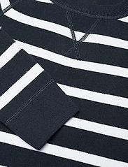 Superdry - ESSENTIAL COTTON CREW - sweaters - eclipse navy stripe - 2