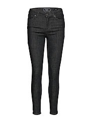 SUPER CRAFTED-SKINNY MID RISE - KARLSON BLACK