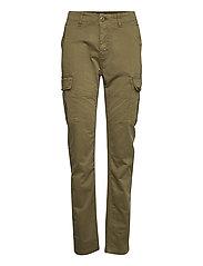 Slim Cargo Pant - TUSCAN OLIVE