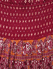 Superdry - AMEERA MINI SMOCKED SKIRT - short skirts - rust - 2