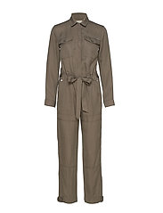 DESERT MILITARY JUMPSUIT - BUNGEE CORD