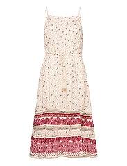 AMEERA CAMI DRESS - PALE ROSE
