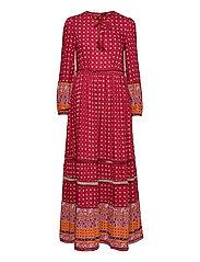 AMEERA MAXI DRESS - RUST