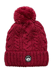 GRACIE CABLE BEANIE - CABARET PINK