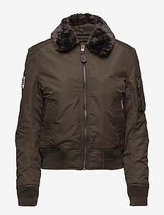 SDR WINTER FLITE JACKET - DEEP KHAKI