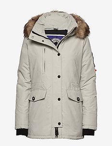 ASHLEY EVEREST - padded jackets - ice cloud