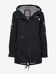 PACIFIC PATCH PARKA - NAVY