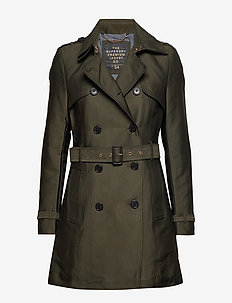 BELLE TRENCH - trenchcoats - ultra khaki