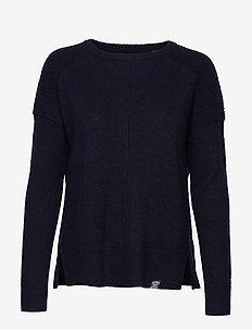 BRIA RAGLAN KNIT - pullover - soft navy