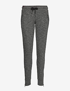 FASHION LUXE JOGGER - LUXE DARK CHARCOAL MARL