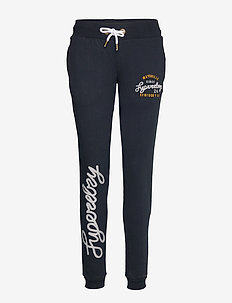 ARIA APPLIQUE SLIM JOGGER - ECLIPSE NAVY