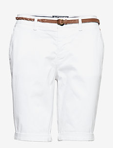 CHINO CITY SHORT - bermudas - optic white