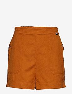 MILA CULOTTE SHORTS - casual korte broeken - ochre